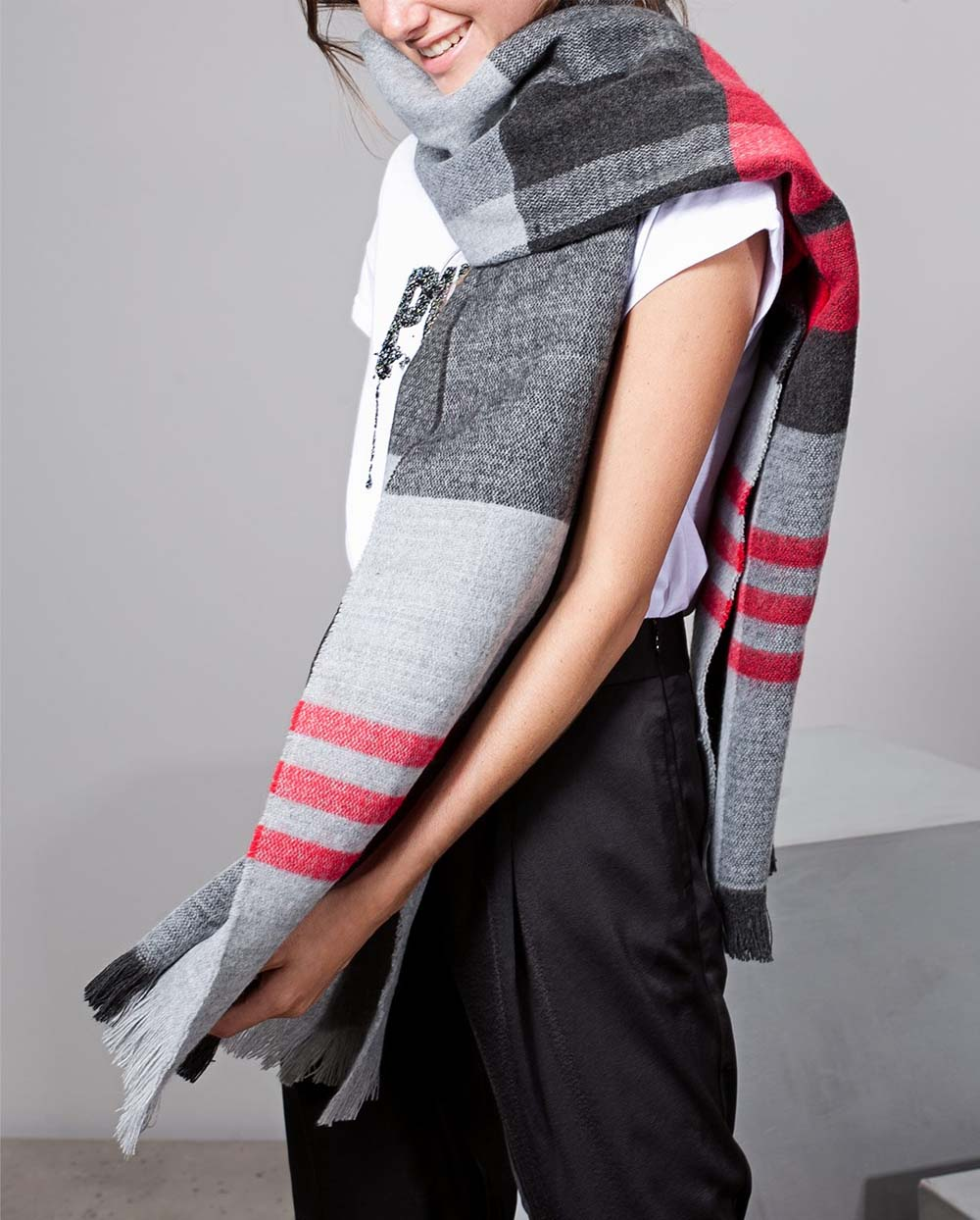 Scarf for winter fashion