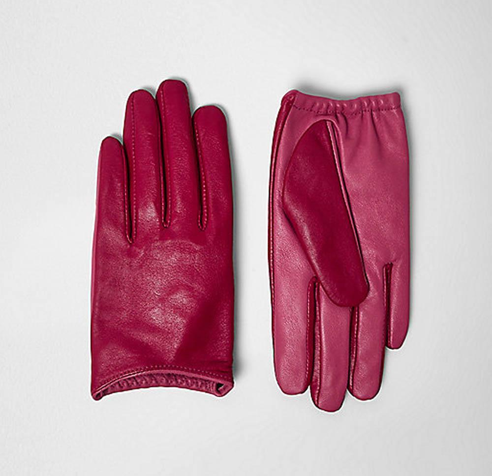river island gloves