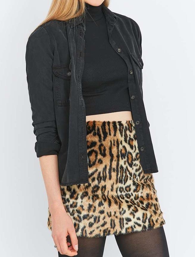 leopard dress allinstyle
