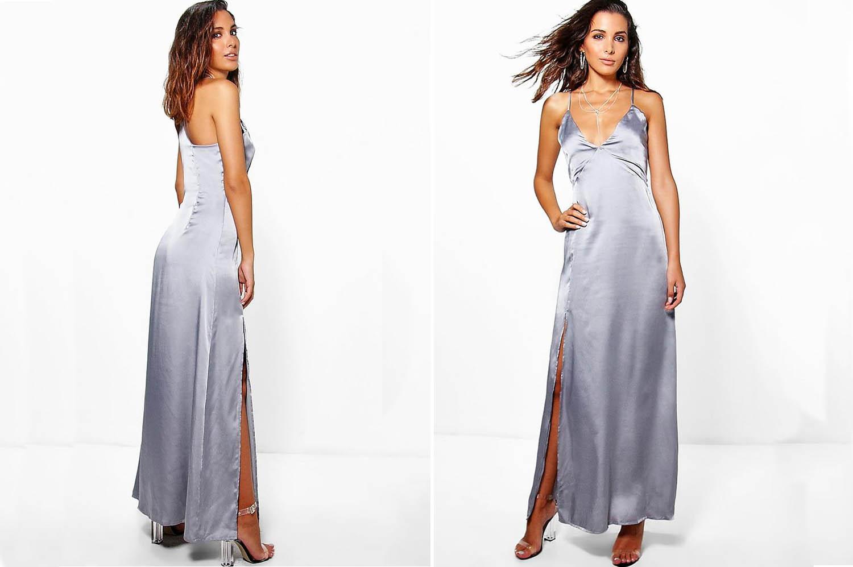 Slip Silky Dresses